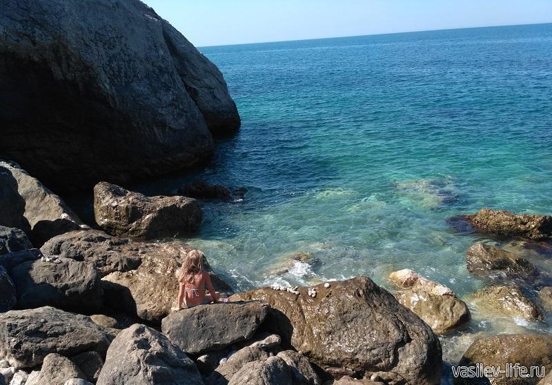 Пляж Белые камни