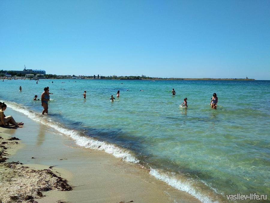 Пляж Детский в Черноморске