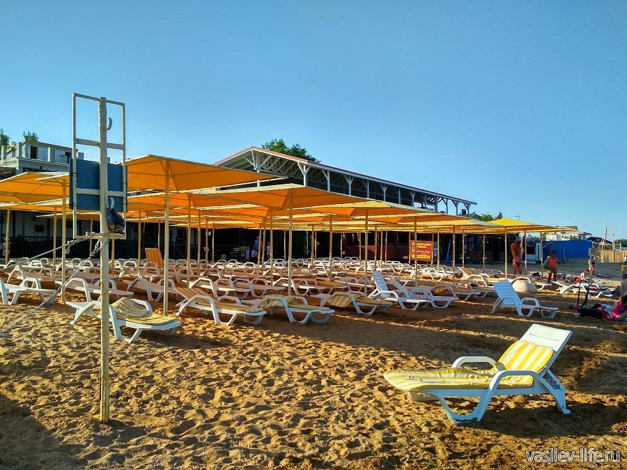 Пляж Жемчужный в Феодосии (2)