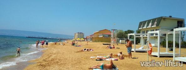 Пляж Золотые пески, Феодосия