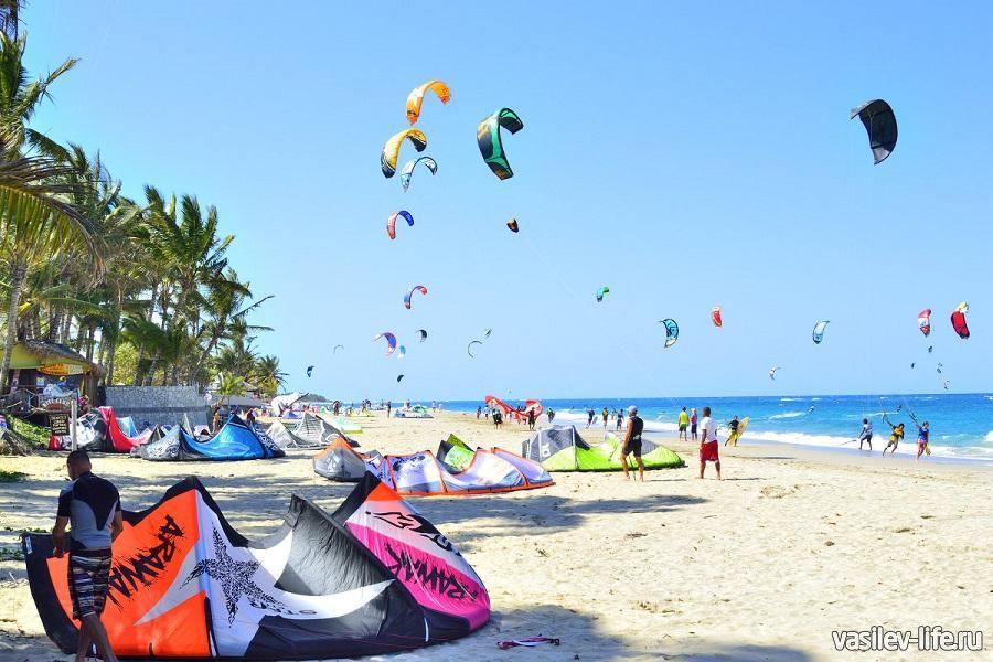 Пляж Кайт Бич