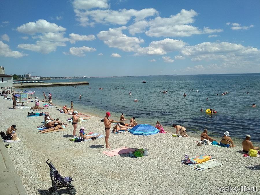 Пляж Камешки в Феодосии 3