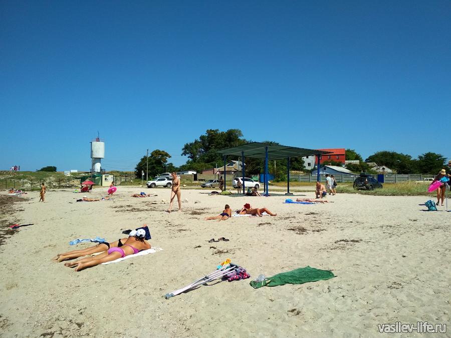 Пляж Колхозный в Черноморском
