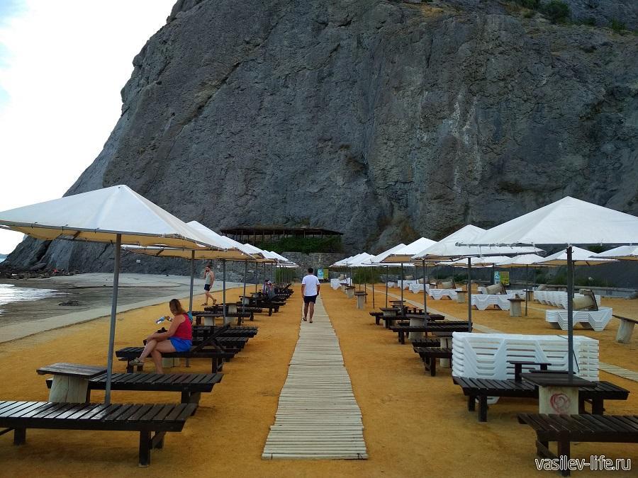 Пляж Мохито в Судаке (10)