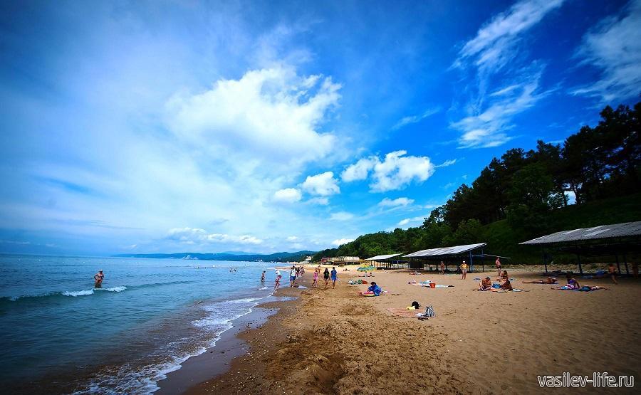 Пляж Орленок Туапсе