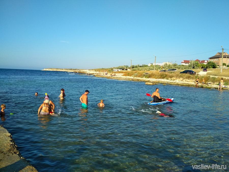 Пляж Рыбзик в Черноморском