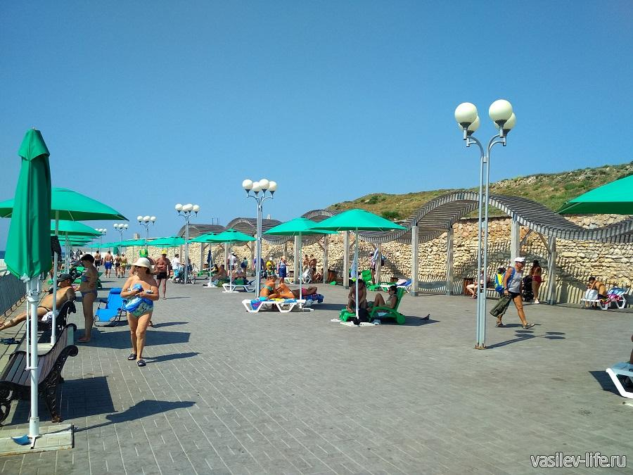 Пляж Солнечный в Севастополе (11)
