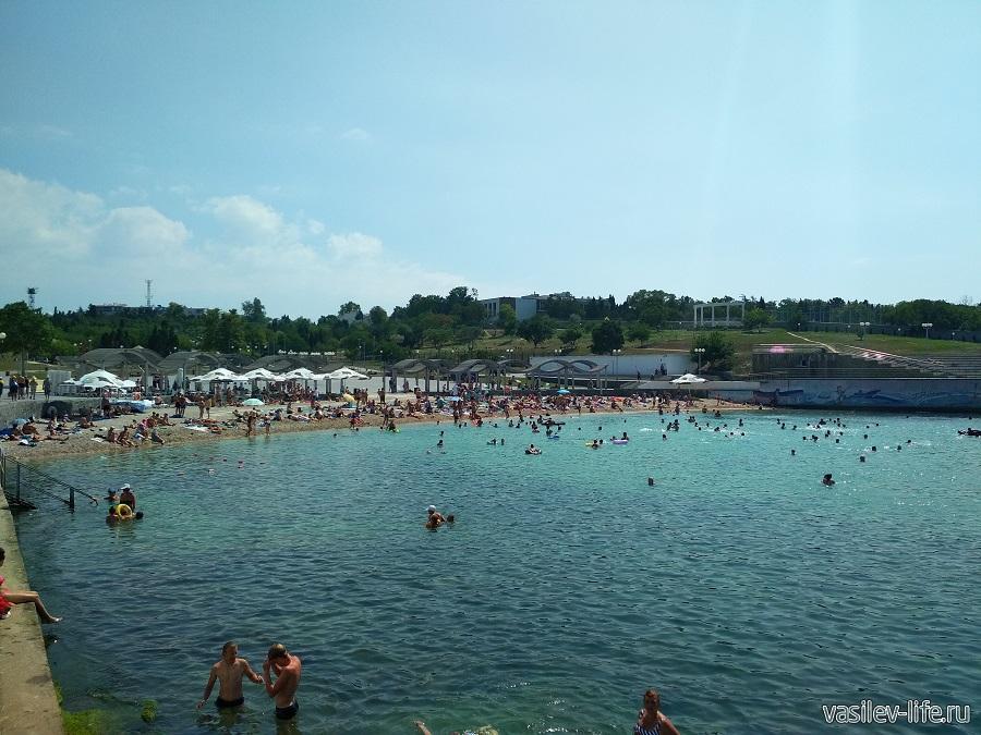 Пляж Солнечный в Севастополе (12)