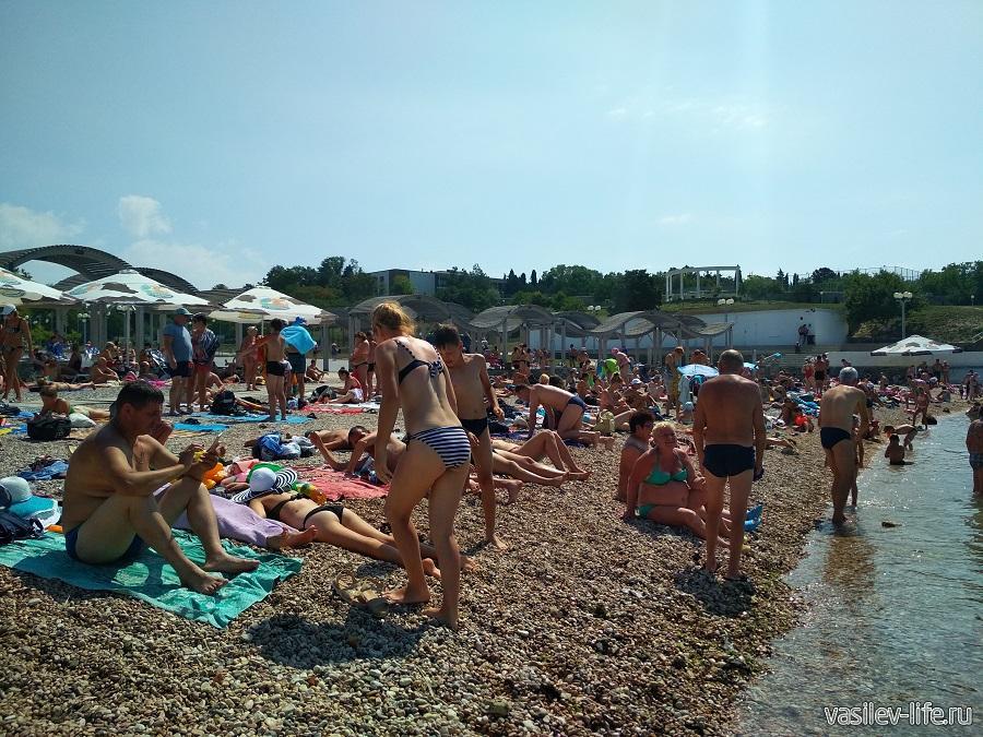 Пляж Солнечный в Севастополе (15)