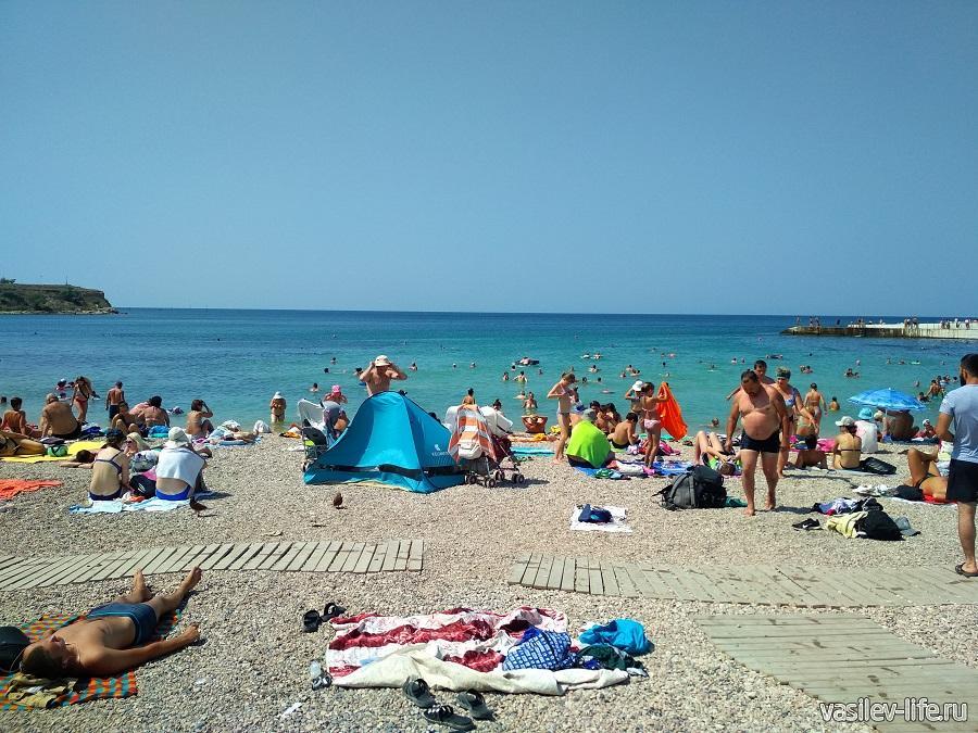 Пляж Солнечный в Севастополе (5)