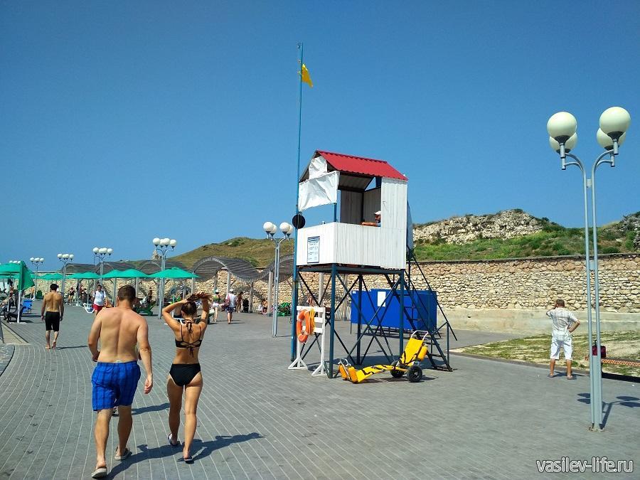 Пляж Солнечный в Севастополе (8)