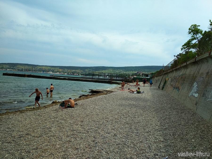 Пляж Суворинские камни (5)