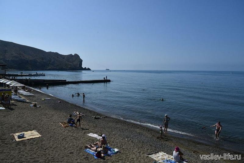 Пляж «Судак»