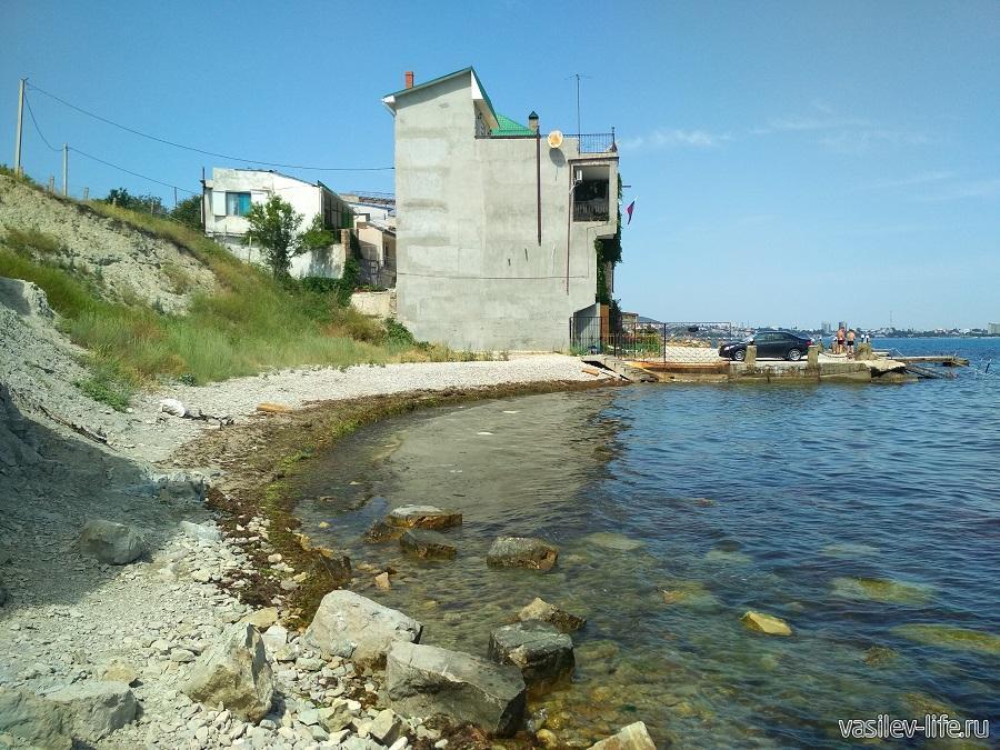 Пляж Чумка в Феодосии