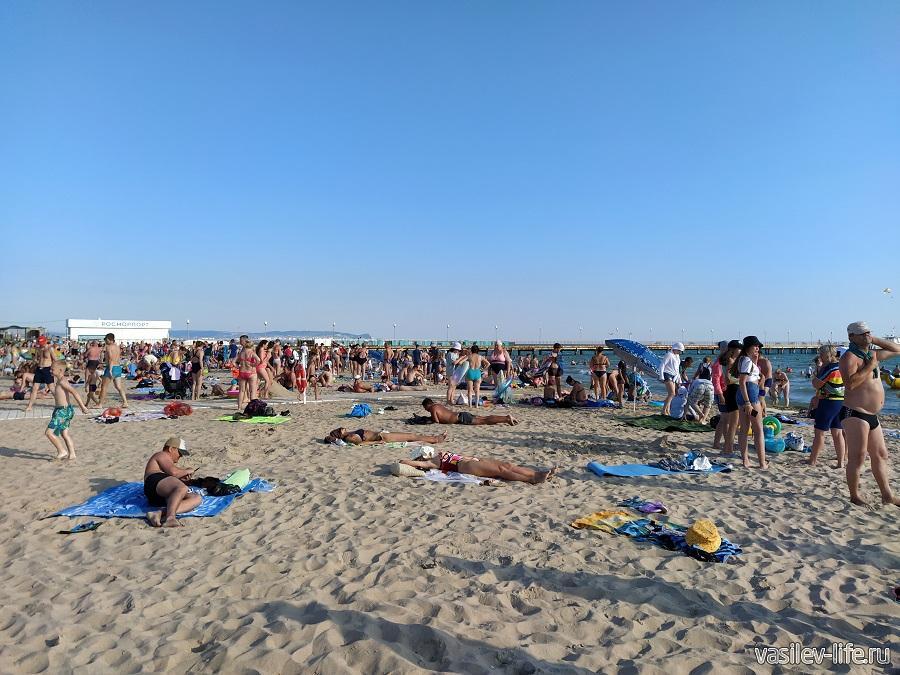 Пляж в Витязево (4)