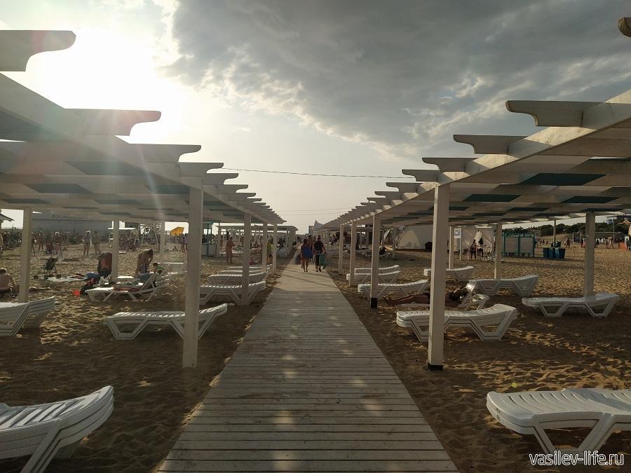 Пляж в Витязево (6)