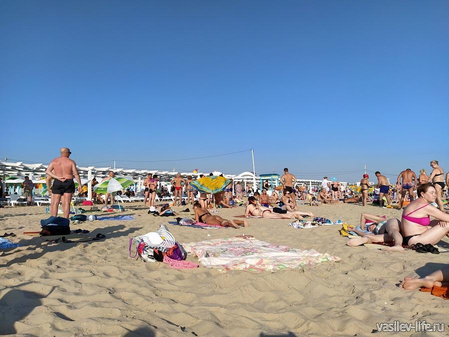 Пляж в Витязево (7)
