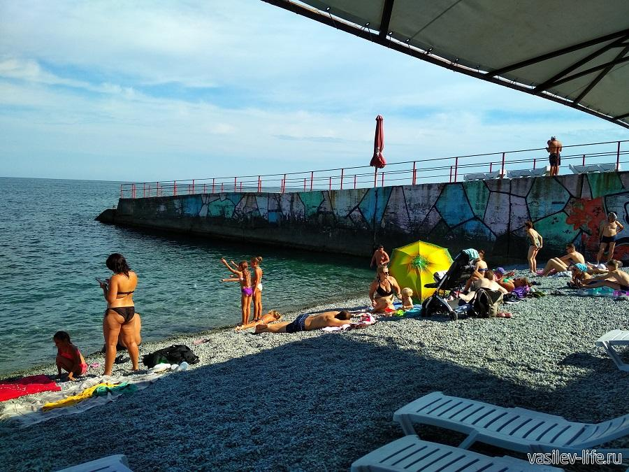 Пляж в Ливадии (4)