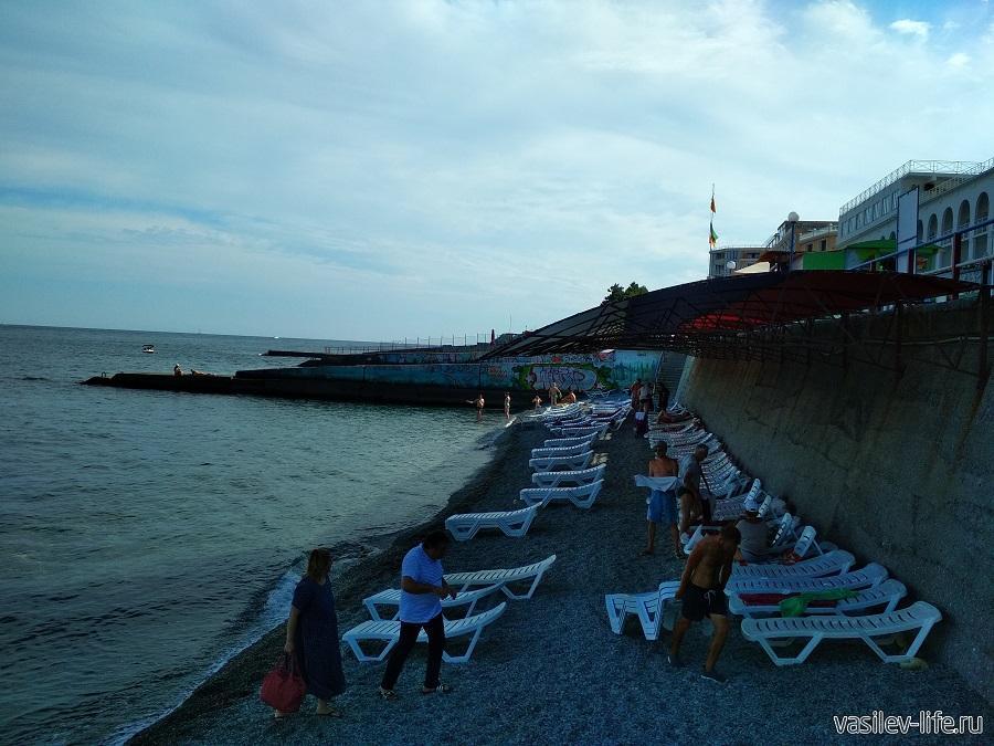 Пляж в Ливадии (8)