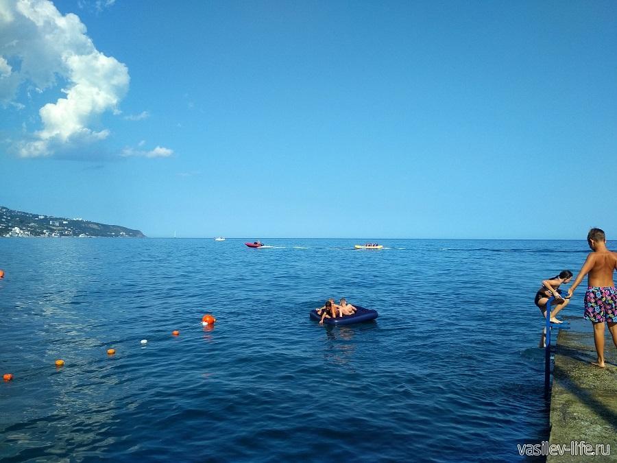 Пляж отеля «Левант», Ялта (3)