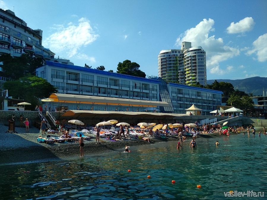 Пляж отеля «Левант», Ялта (4)
