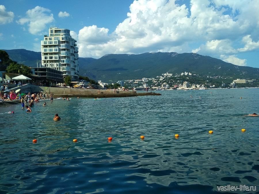 Пляж отеля «Левант», Ялта (6)