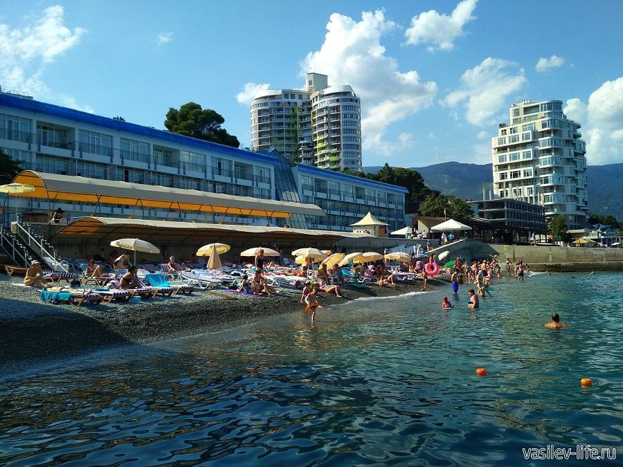 Пляж отеля «Левант», Ялта (7)