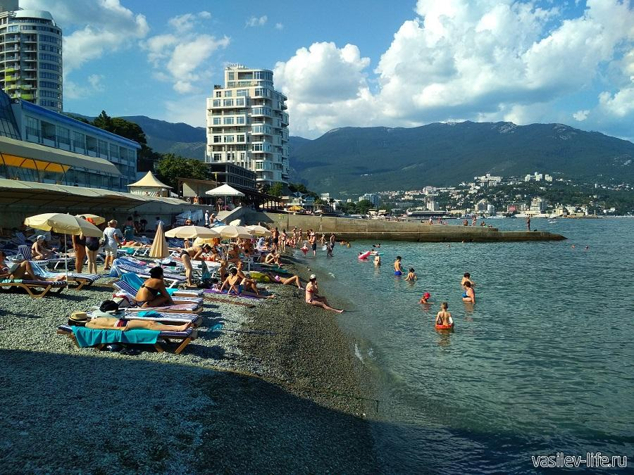 Пляж отеля «Левант», Ялта (8)