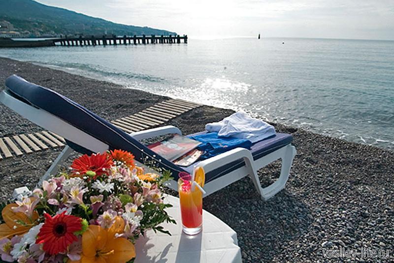 Пляж отеля «Ореанда», Ялта