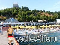Пляж отеля «Ялта-Интурист»