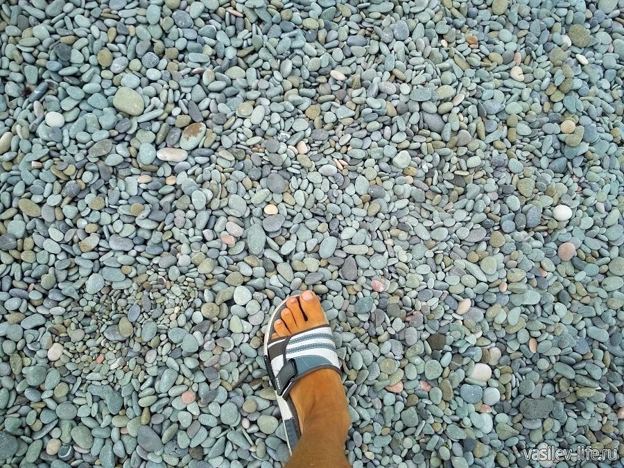 Пляж санатория «Ай-Даниль» в окрестностях Ялты (13)