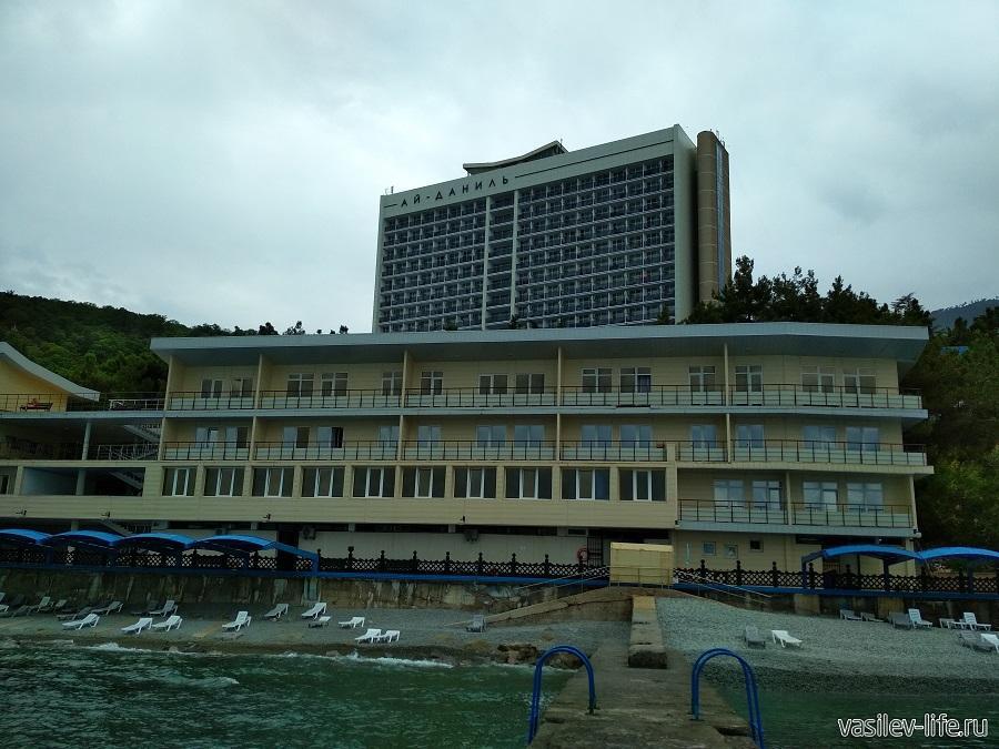 Пляж санатория «Ай-Даниль» в окрестностях Ялты (7)
