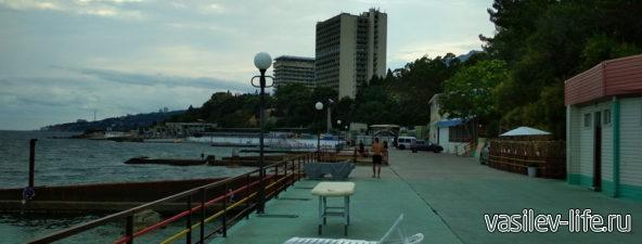 Пляж санатория «Белоруссия»