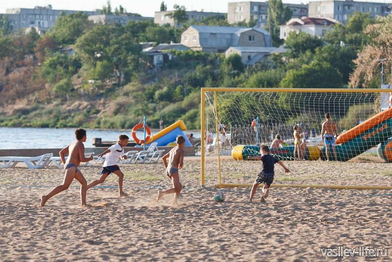 Пляж санатория «Киев» 6