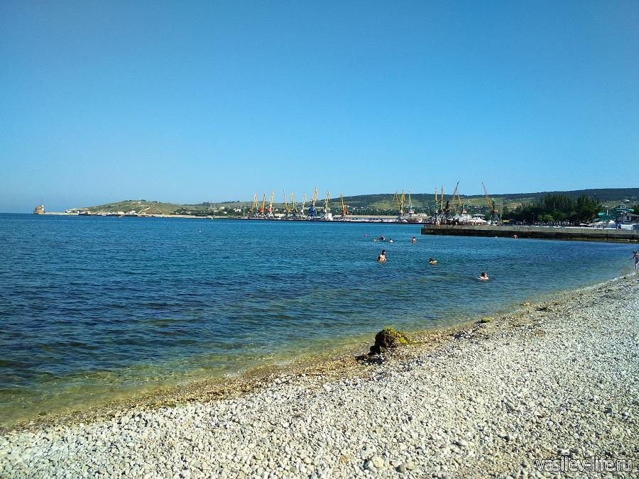 Пляж санатория Восход (2)