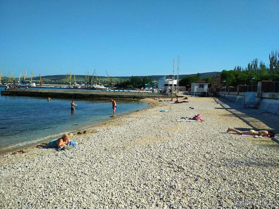 Пляж санатория Восход (4)