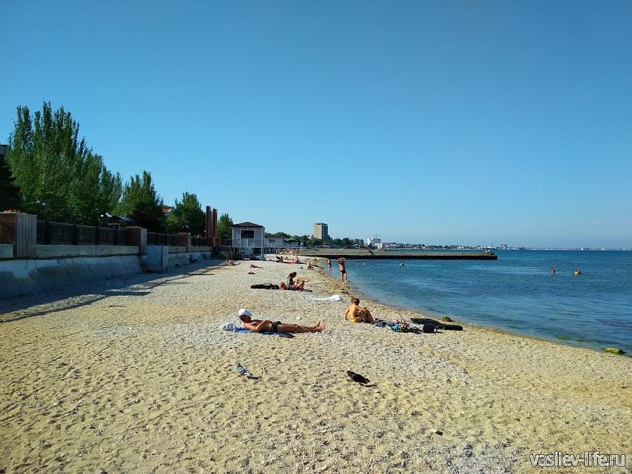 Пляж санатория Восход (6)