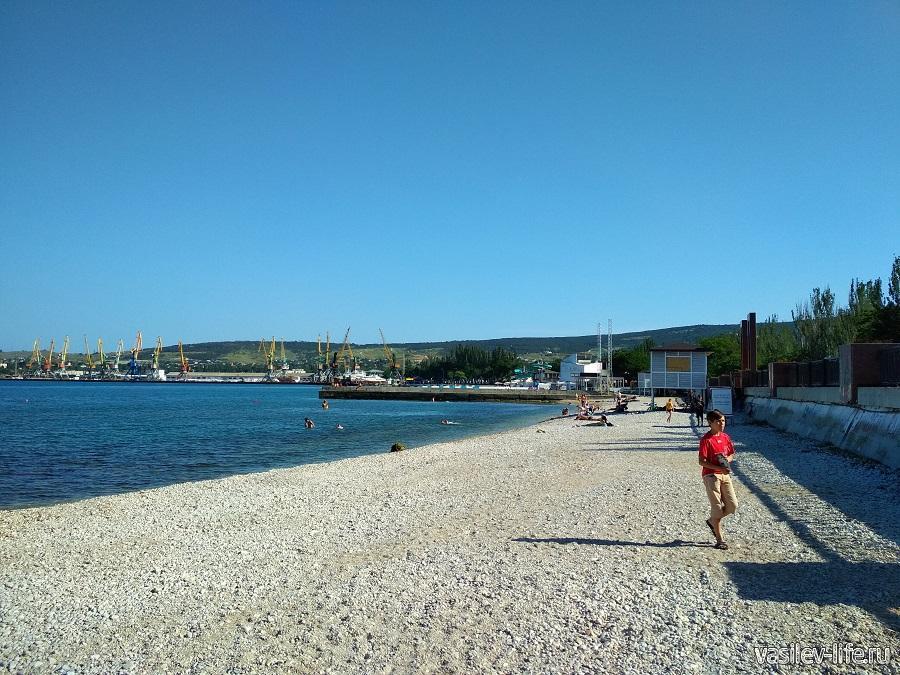 Пляж санатория Восход