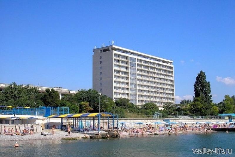 Пляж санатория Министерства обороны 4