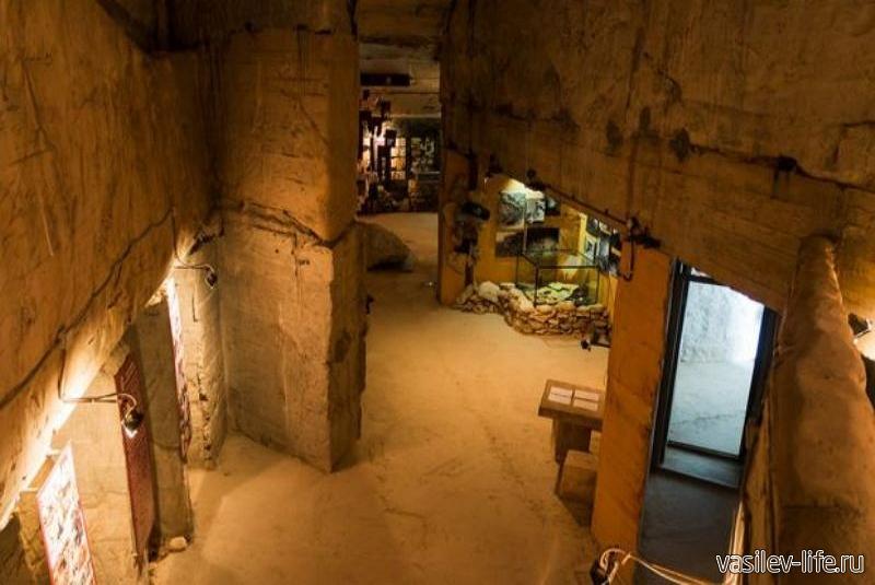 Подземная Керченская крепость внутри1