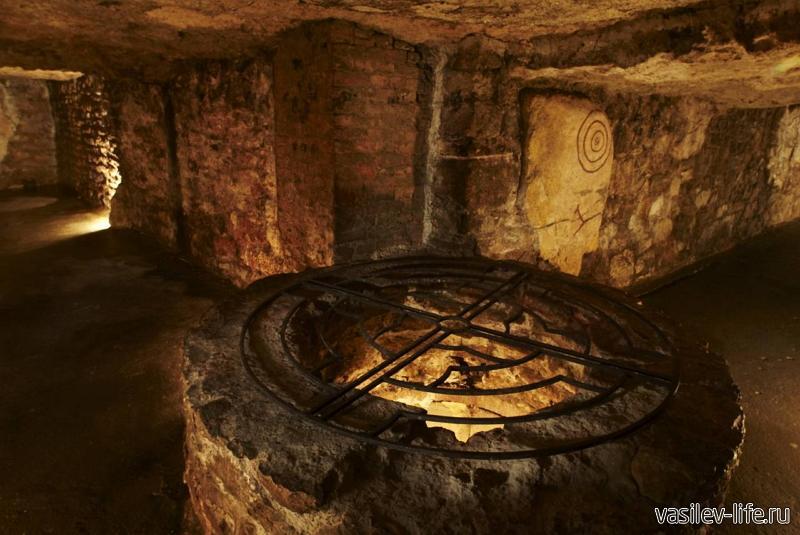 Подземная Керченская крепость внутри2