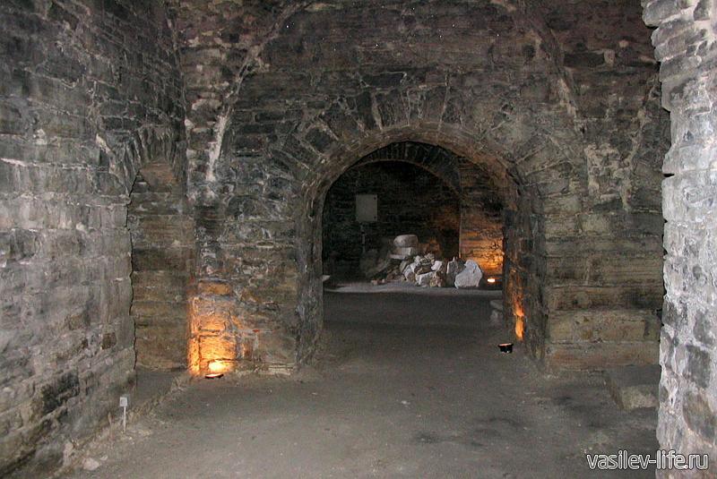 Подземная Керченская крепость внутри4