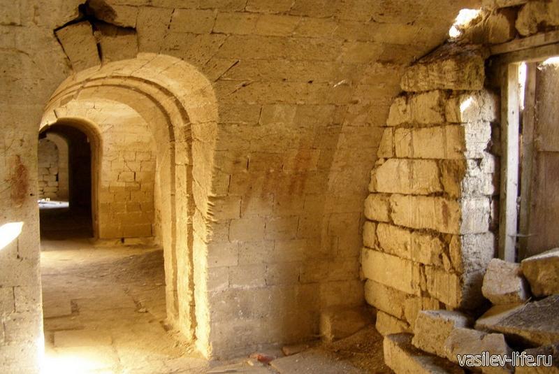 Подземная Керченская крепость внутри6