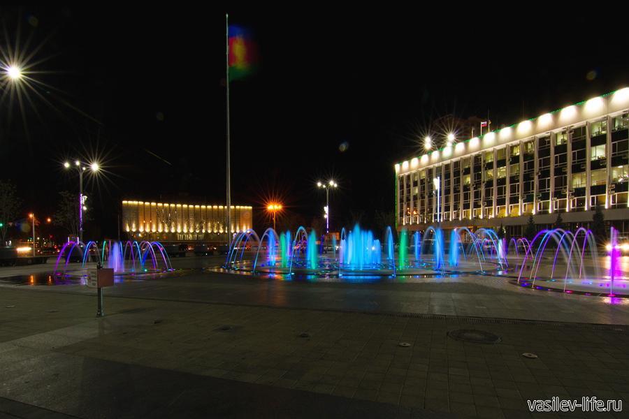Поющий фонтан в Краснодаре