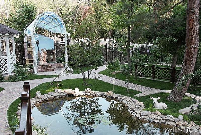 Приморский парк, Алушта