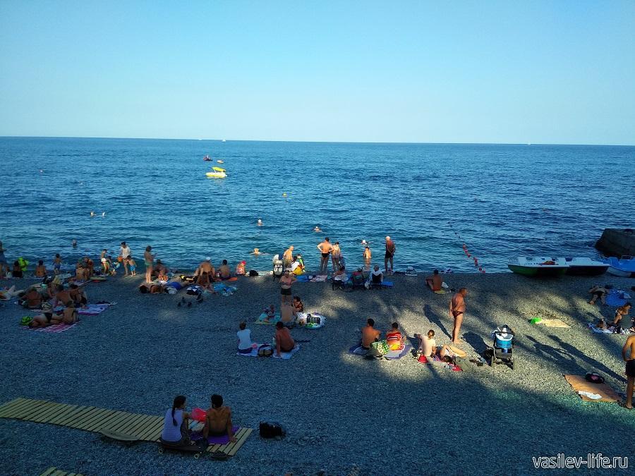 Приморский пляж, Ялта (6)
