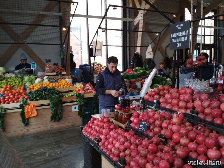 Продуктовые рынки Пятигорска