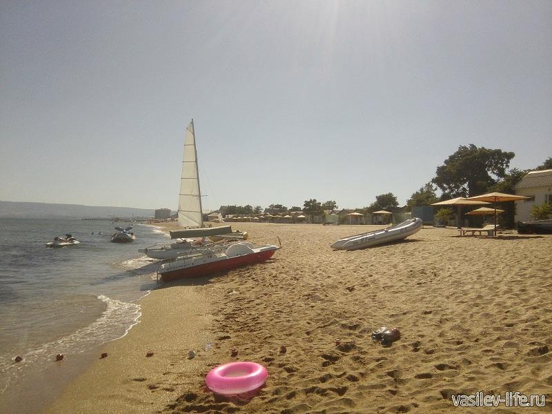 Просторы пляжа