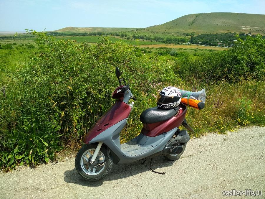 Путешествия по Крыму на Хонде Дио