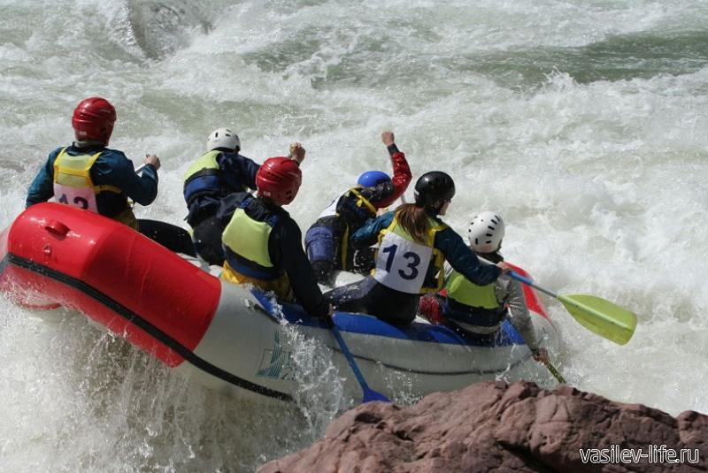 Рафтинг на реке Белая